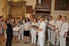 11 Jarmark Franciszkański 1 (25) Schola kapucyńska na Mszy Świętej o 12_30