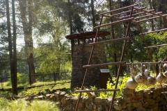 Wycieczka ministrantów - Bieszczady - Caritas Myczkowce Ogród biblijny (11)