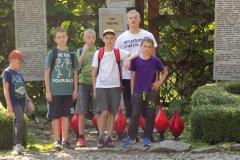 Wycieczka ministrantów - Bieszczady - Caritas Myczkowce Ogród biblijny (14)