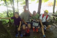 Wycieczka ministrantów - Bieszczady - Caritas Myczkowce Ogród biblijny (15)