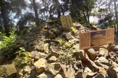 Wycieczka ministrantów - Bieszczady - Caritas Myczkowce Ogród biblijny (5)