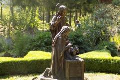 Wycieczka ministrantów - Bieszczady - Caritas Myczkowce Ogród biblijny (8)