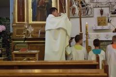 Wycieczka ministrantów - Bieszczady Msza Święta i nab. czerwcowe (1)