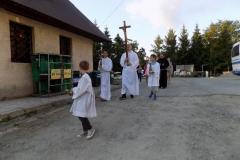 Wycieczka ministrantów - Bieszczady Msza Święta i nab. czerwcowe (7)