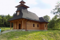 Wycieczka ministrantów - Bieszczady - Muczne kościół (1)