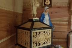 Wycieczka ministrantów - Bieszczady - Muczne kościół (11)
