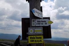 Wycieczka ministrantów - Bieszczady - wyjście na wielką Rawkę (19)