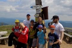 Wycieczka ministrantów - Bieszczady - wyjście na wielką Rawkę (23)