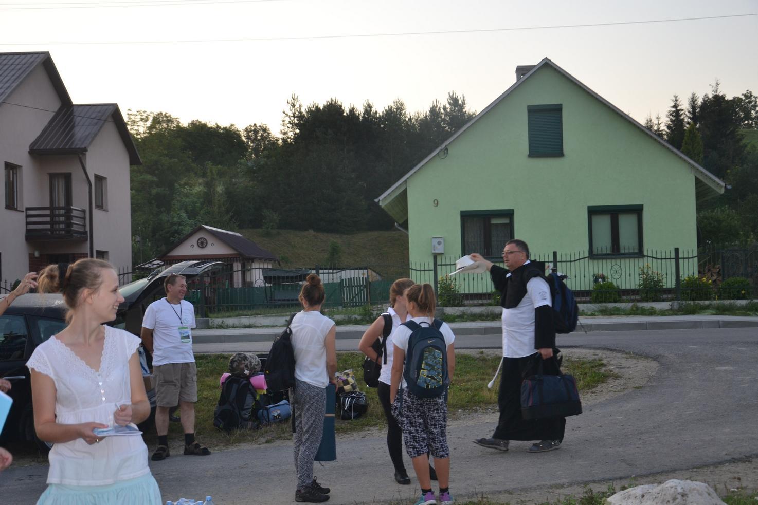 15 Piesza Pielgrzymka Krosno - Kalwaria Pacławska - dzień czwarty 12 sierpnia 2017 (01)