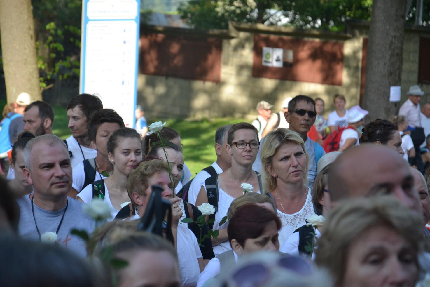 15 Piesza Pielgrzymka Krosno - Kalwaria Pacławska - dzień czwarty 12 sierpnia 2017 (37)