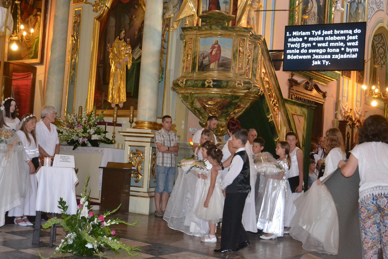 15 Piesza Pielgrzymka Krosno - Kalwaria Pacławska - dzień czwarty 12 sierpnia 2017 (43)