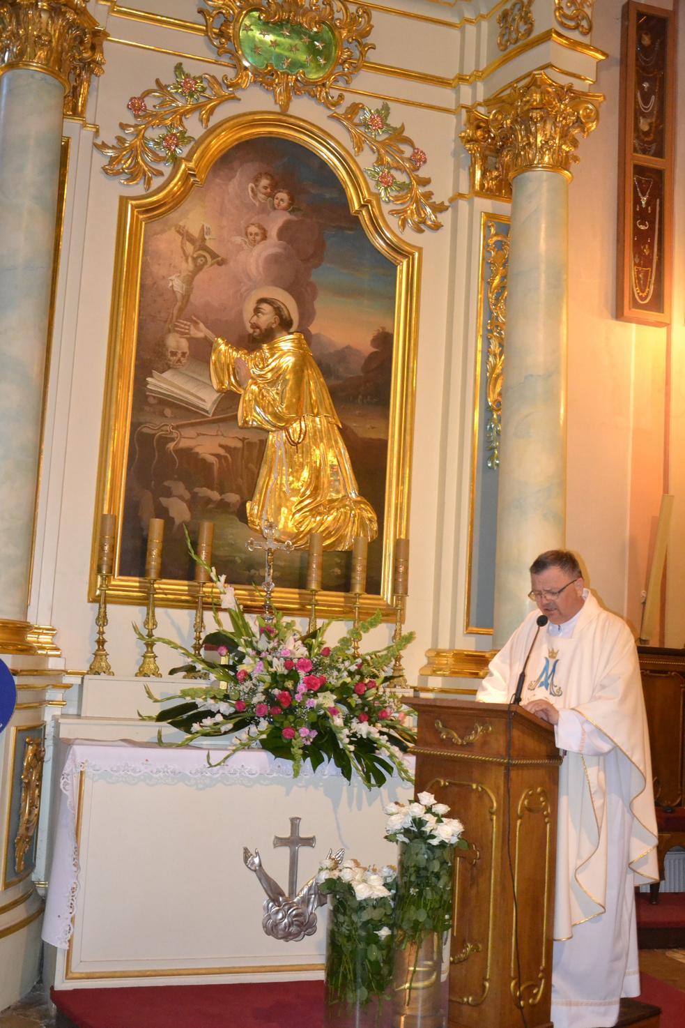 15 Piesza Pielgrzymka Krosno - Kalwaria Pacławska - dzień czwarty 12 sierpnia 2017 (45)