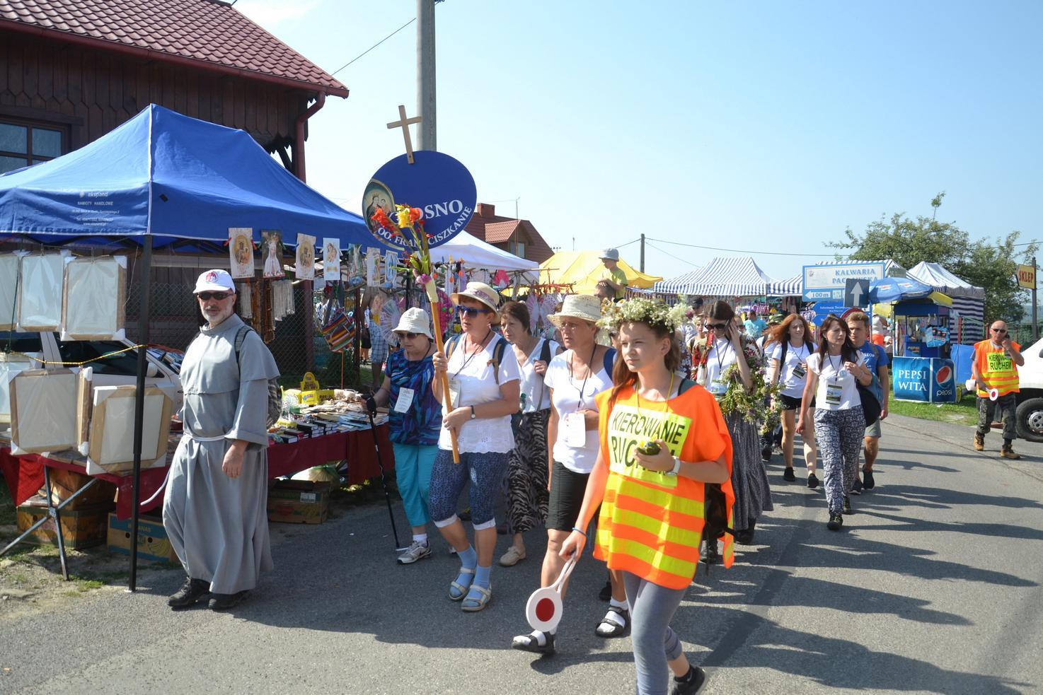 15 Piesza Pielgrzymka Krosno - Kalwaria Pacławska - dzień czwarty 12 sierpnia 2017 (51)