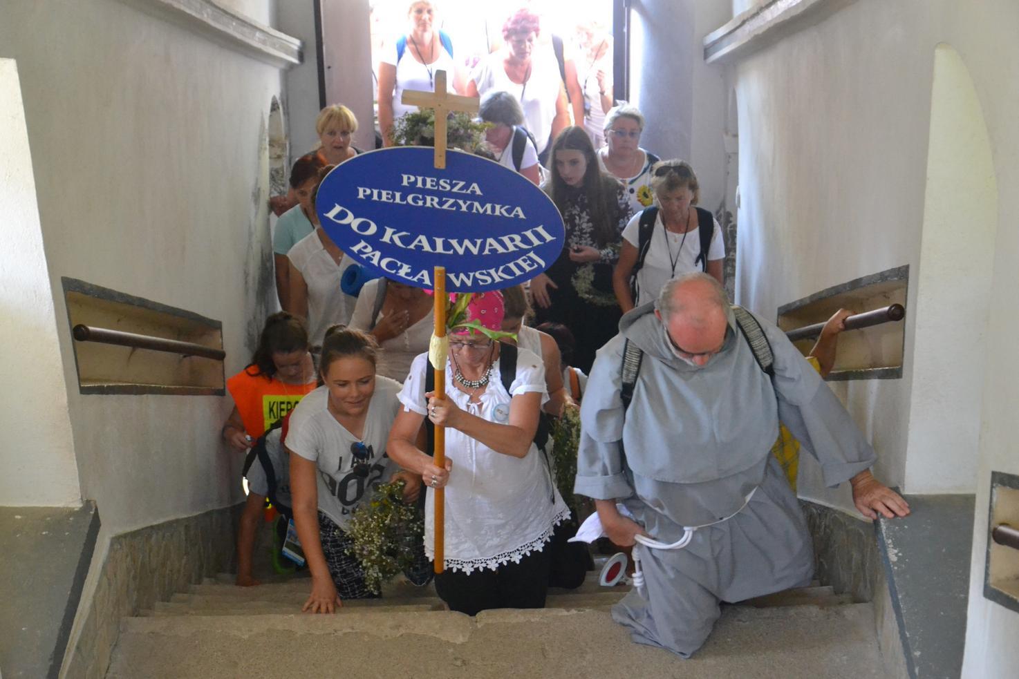 15 Piesza Pielgrzymka Krosno - Kalwaria Pacławska - dzień czwarty 12 sierpnia 2017 (61)