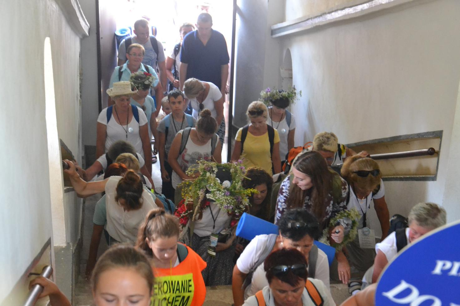 15 Piesza Pielgrzymka Krosno - Kalwaria Pacławska - dzień czwarty 12 sierpnia 2017 (62)