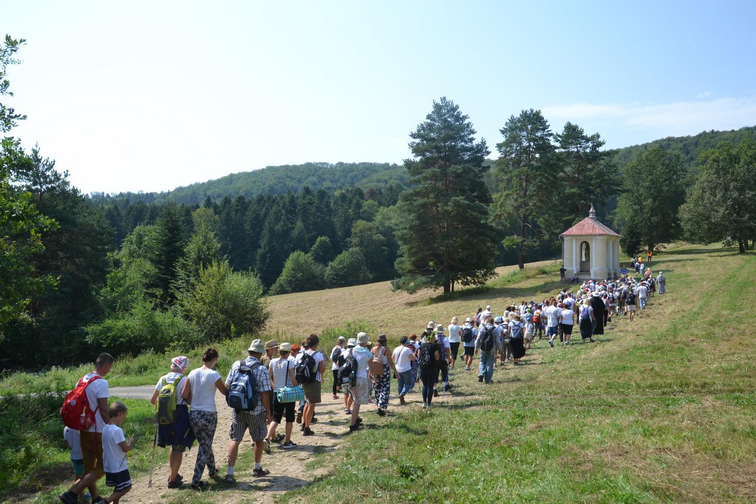 15 Piesza Pielgrzymka Krosno - Kalwaria Pacławska - dzień czwarty 12 sierpnia 2017 (69)
