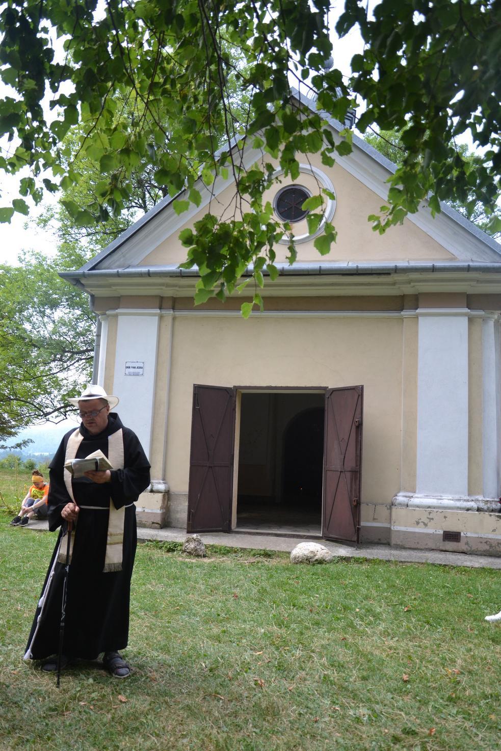 15 Piesza Pielgrzymka Krosno - Kalwaria Pacławska - dzień czwarty 12 sierpnia 2017 (86)