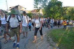 15 Piesza Pielgrzymka Krosno - Kalwaria Pacławska - dzień czwarty 12 sierpnia 2017 (08)