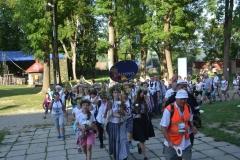 15 Piesza Pielgrzymka Krosno - Kalwaria Pacławska - dzień czwarty 12 sierpnia 2017 (34)