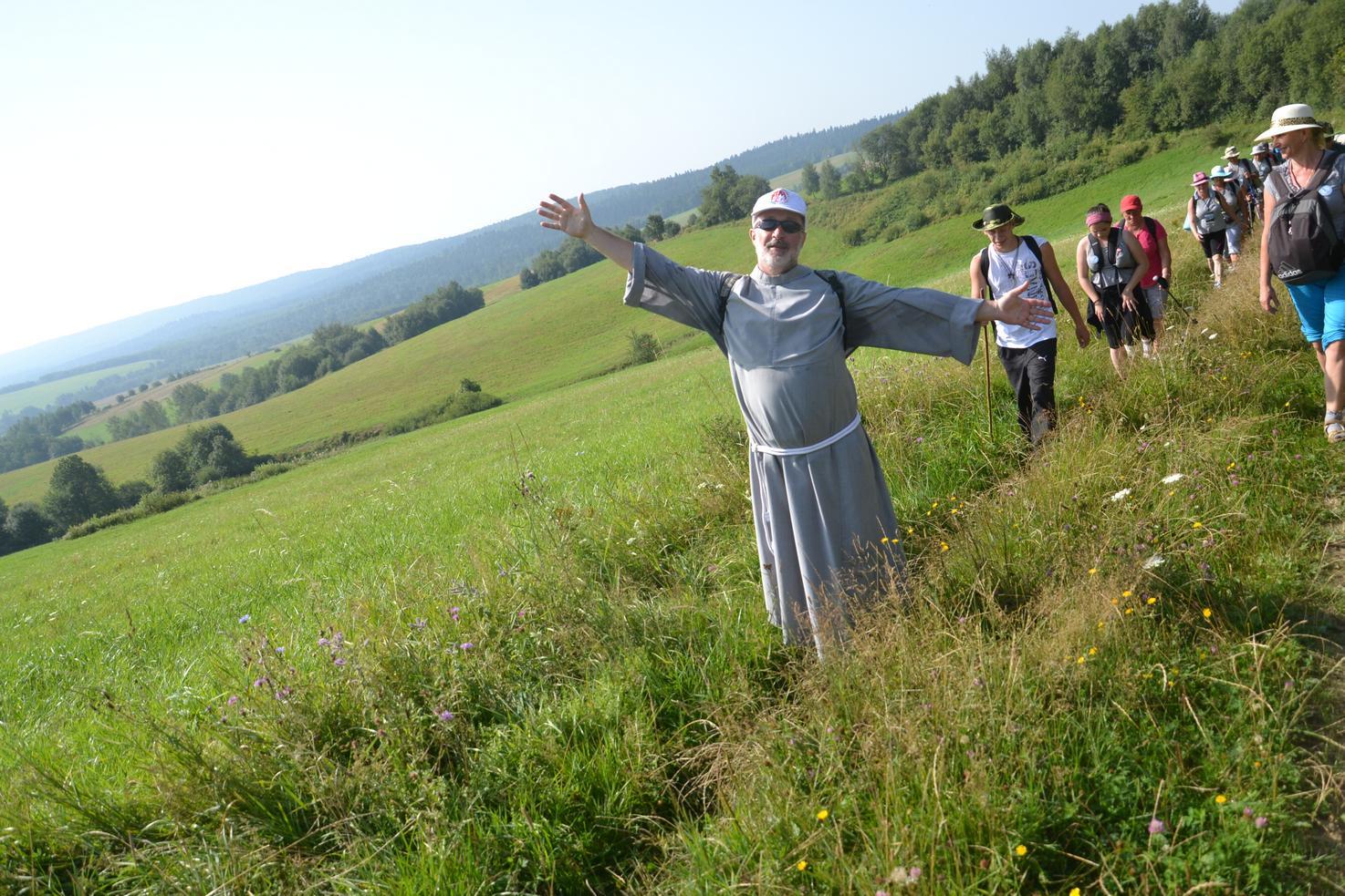 Trzeci dzień pielgrzymki do Kalwarii Pacławskiej 301 (31)