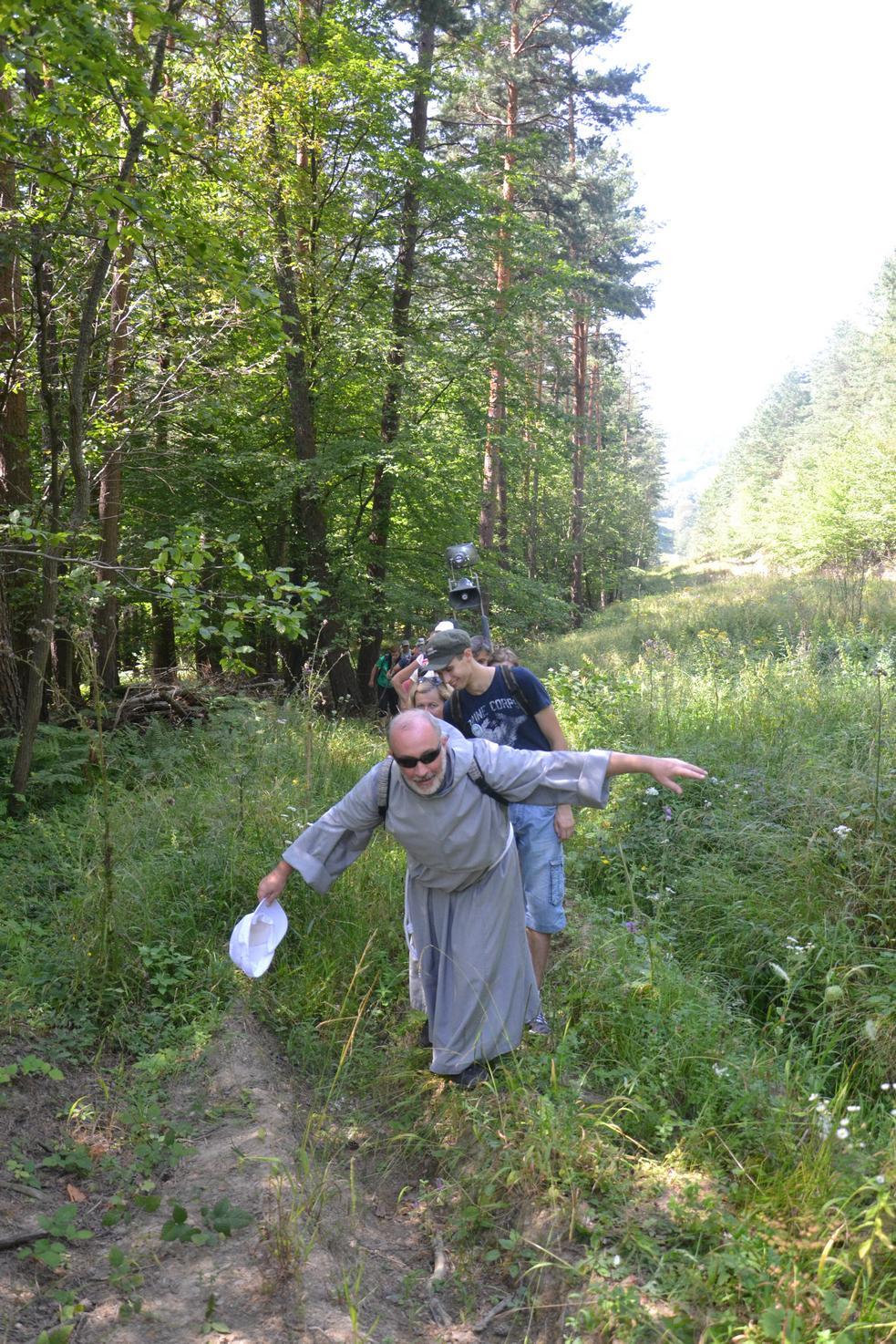 Trzeci dzień pielgrzymki do Kalwarii Pacławskiej 301 (55)