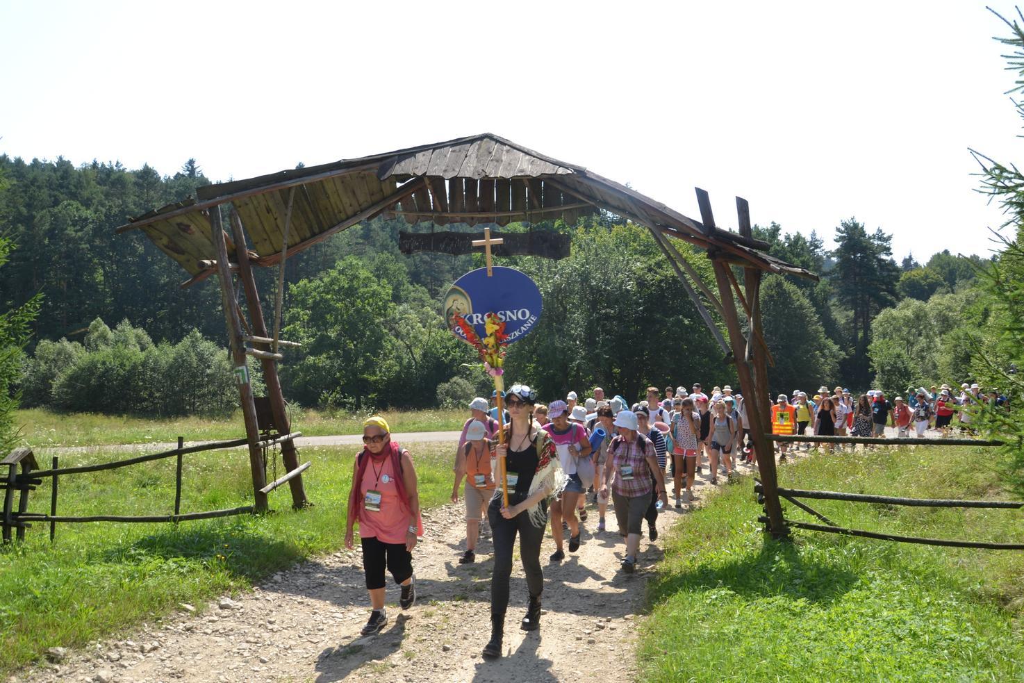 Trzeci dzień pielgrzymki do Kalwarii Pacławskiej 301 (61)