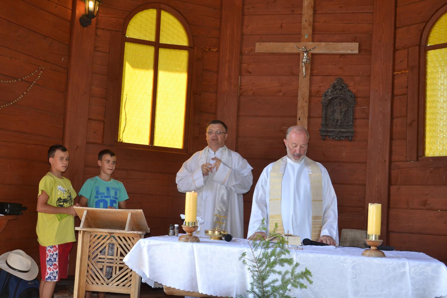 Trzeci dzień pielgrzymki do Kalwarii Pacławskiej 301 (64)