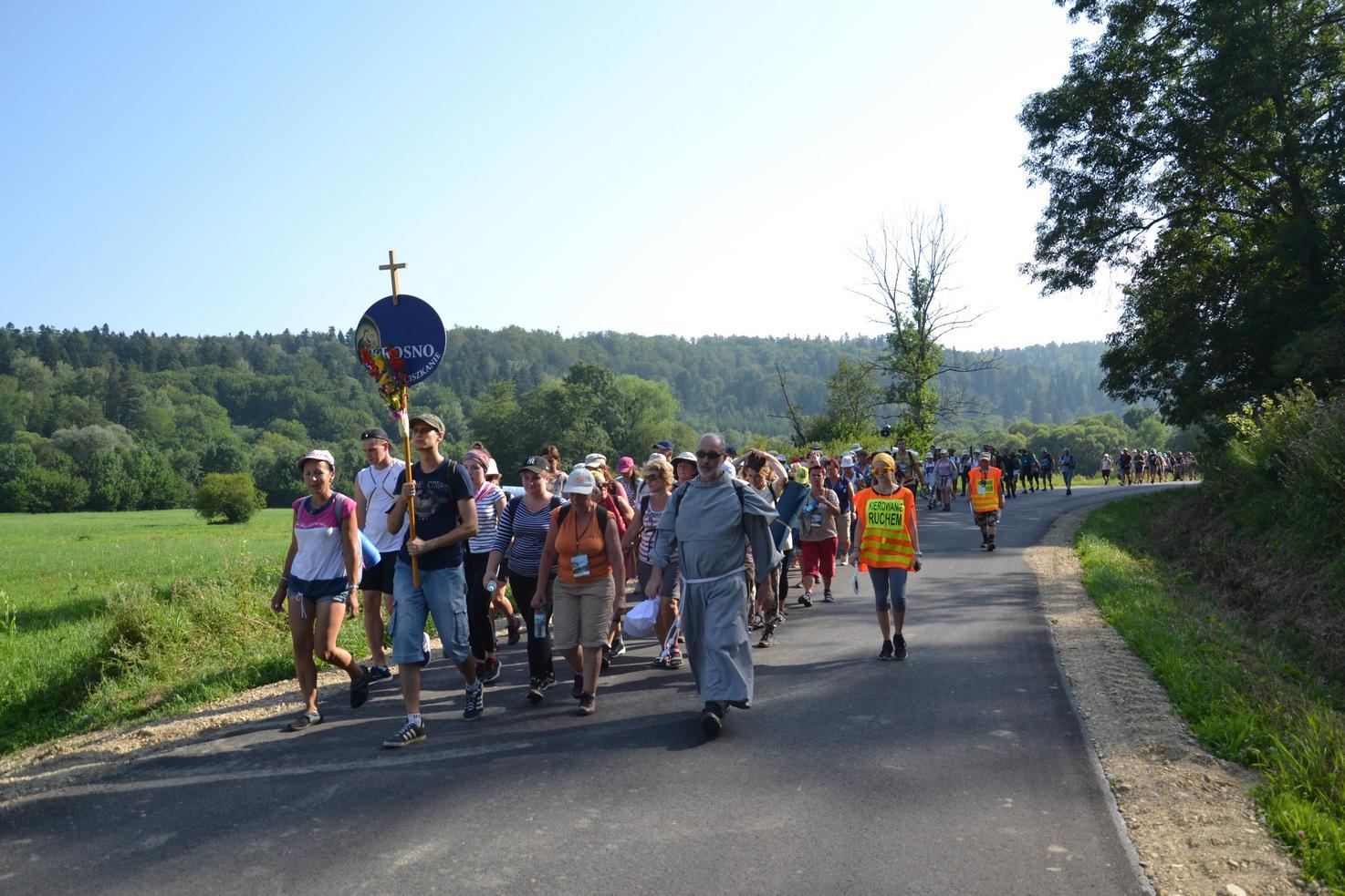 Trzeci dzień pielgrzymki do Kalwarii Pacławskiej 301 (83)