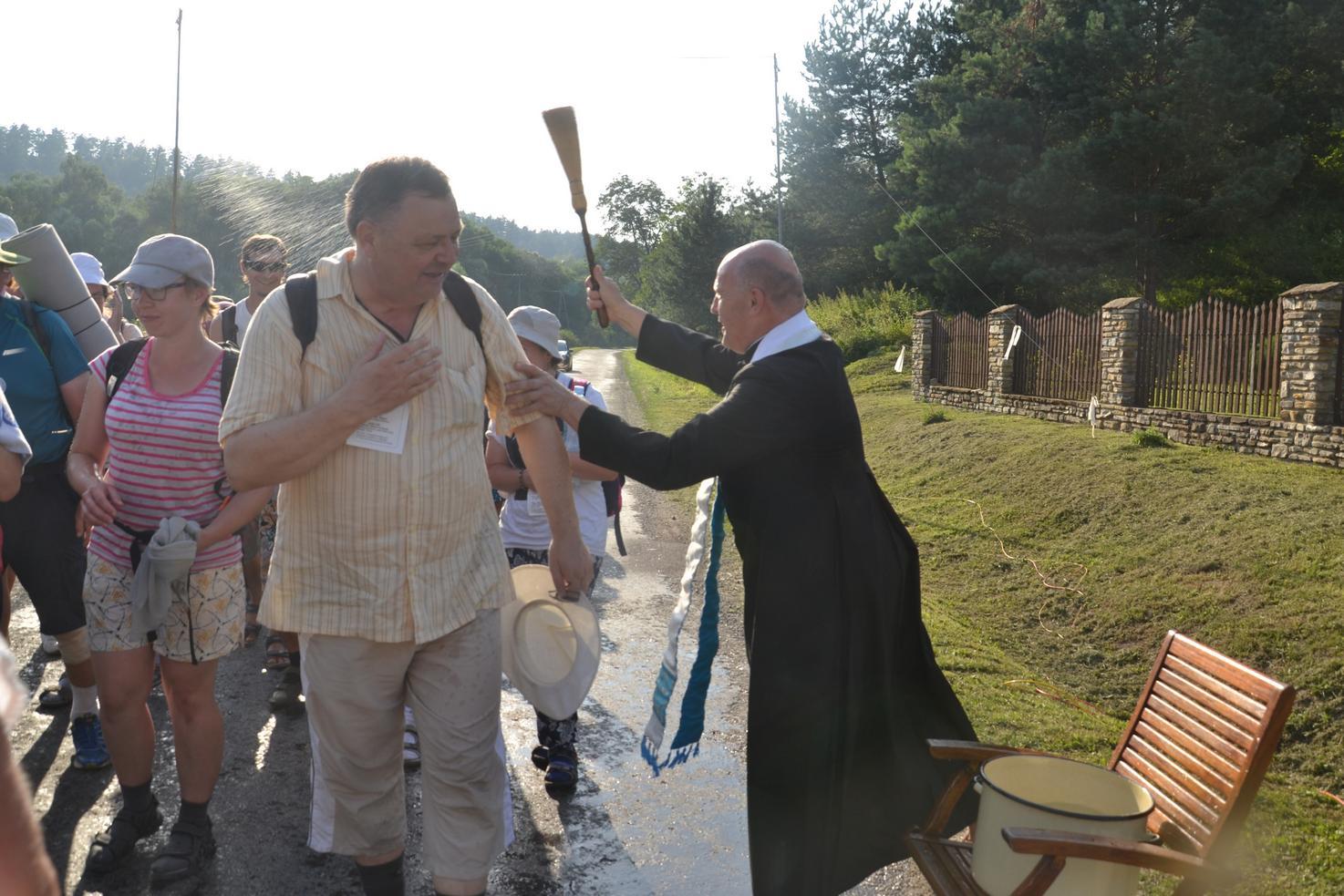Trzeci dzień pielgrzymki do Kalwarii Pacławskiej 401 (100)