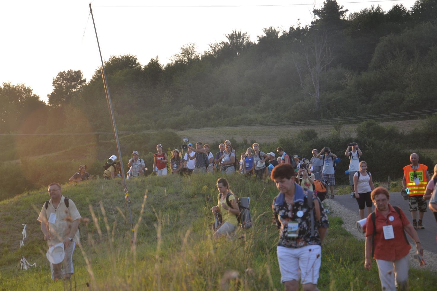 Trzeci dzień pielgrzymki do Kalwarii Pacławskiej 401 (106)