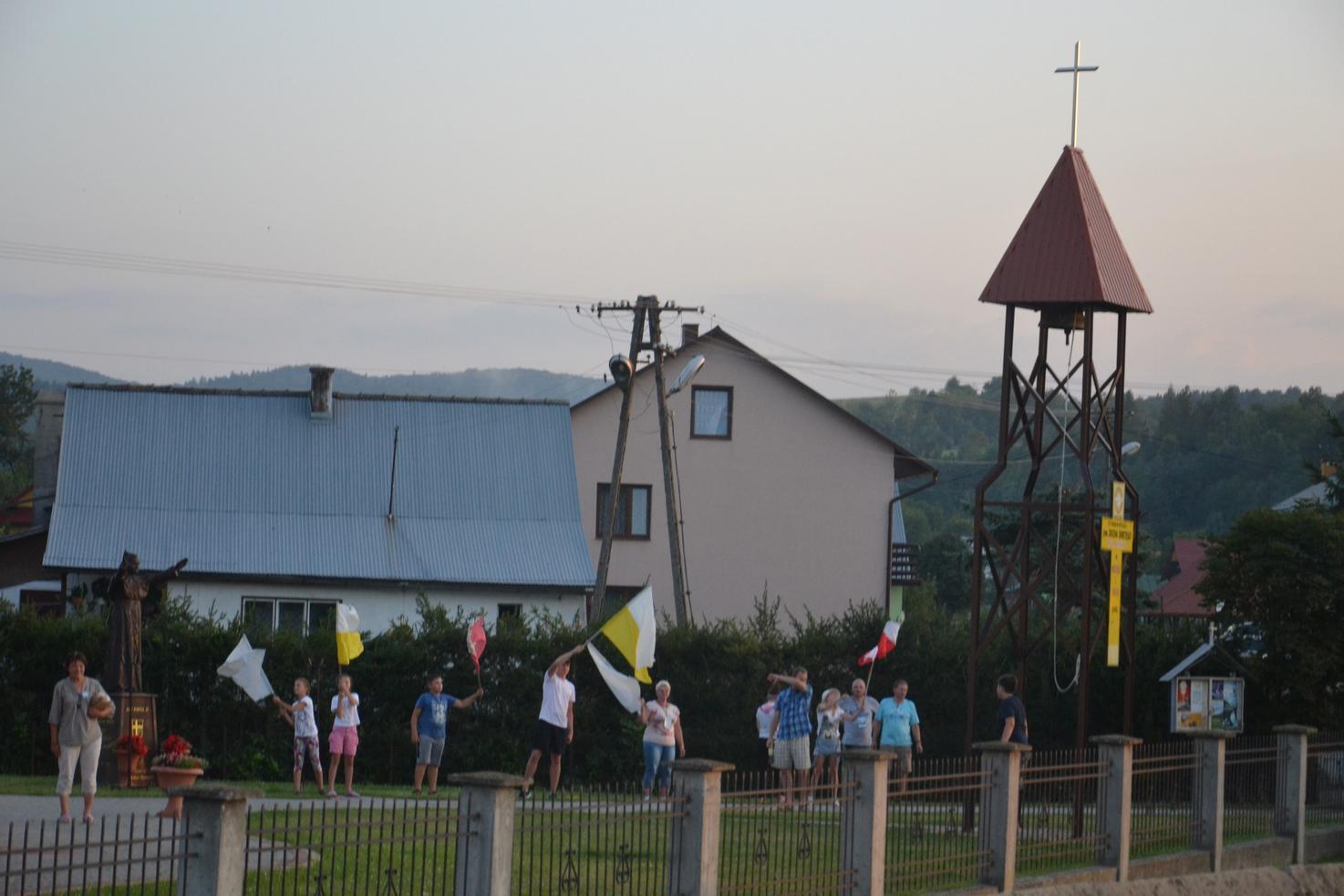 Trzeci dzień pielgrzymki do Kalwarii Pacławskiej 401 (109)