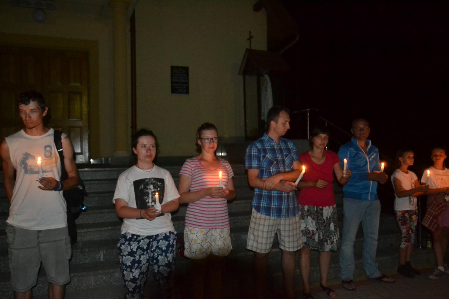 Trzeci dzień pielgrzymki do Kalwarii Pacławskiej 401 (118)