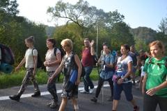 Trzeci dzień pielgrzymki do Kalwarii Pacławskiej 301 (07)