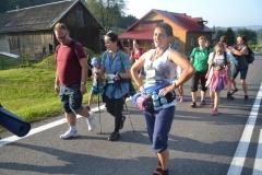 Trzeci dzień pielgrzymki do Kalwarii Pacławskiej 301 (17)