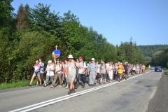 Trzeci dzień pielgrzymki do Kalwarii Pacławskiej 301 (21)