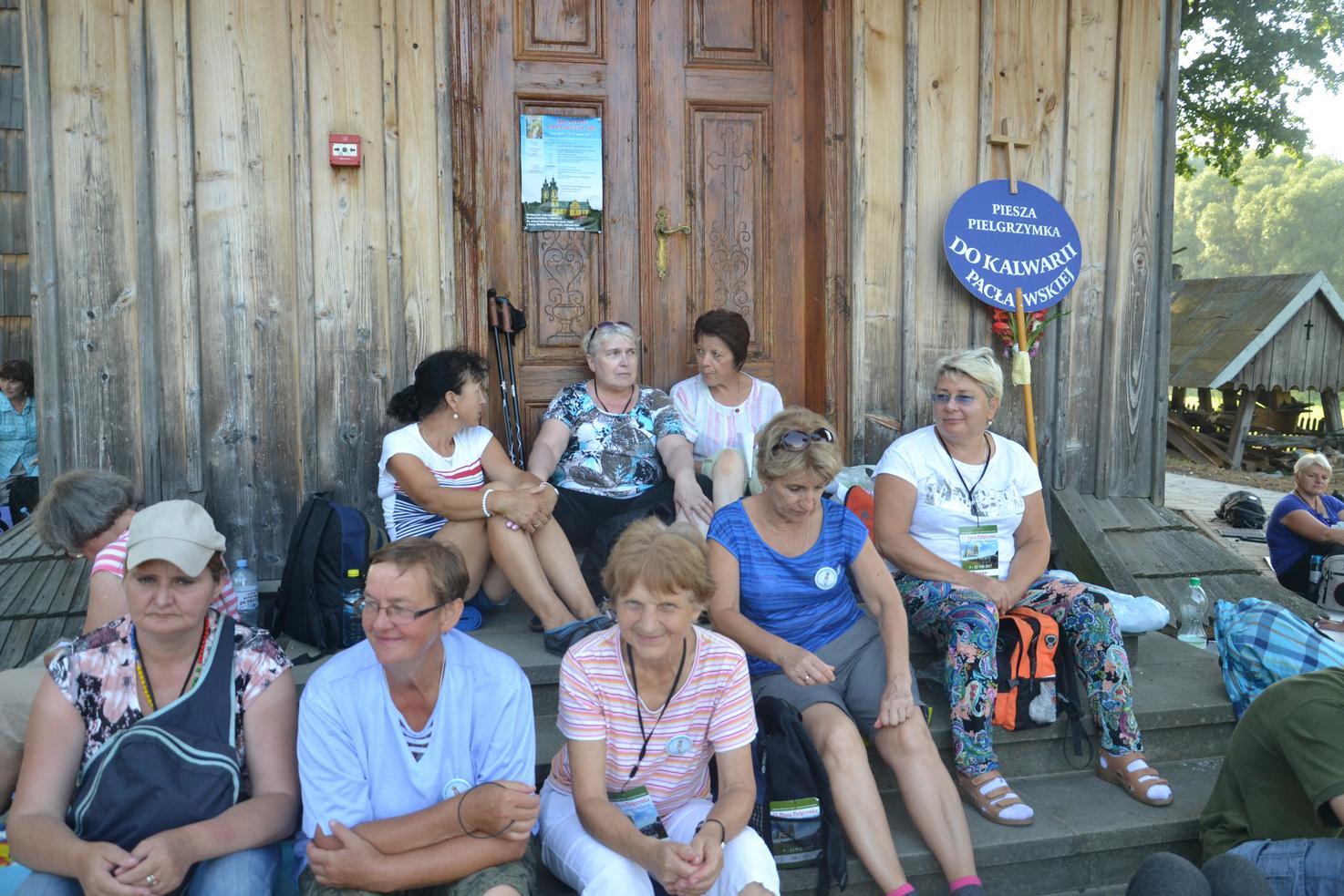 Drugi dzień pielgrzymki do Kalwarii Pacławskiej (07)