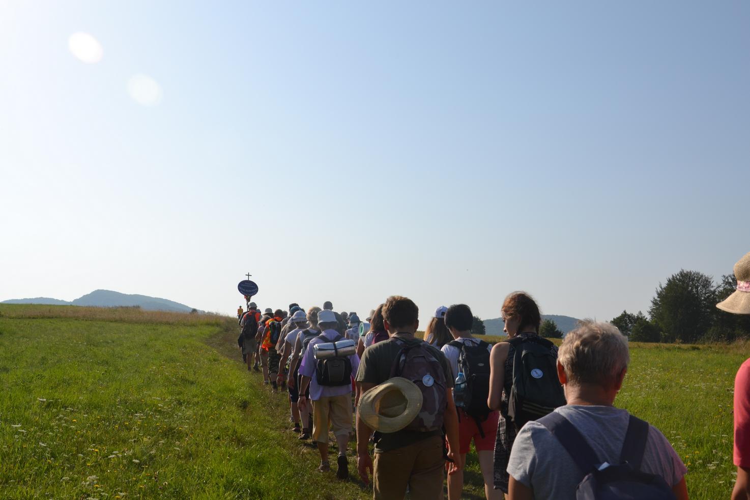 Drugi dzień pielgrzymki do Kalwarii Pacławskiej (13)