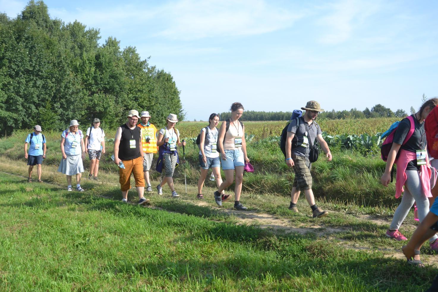 Drugi dzień pielgrzymki do Kalwarii Pacławskiej (16)