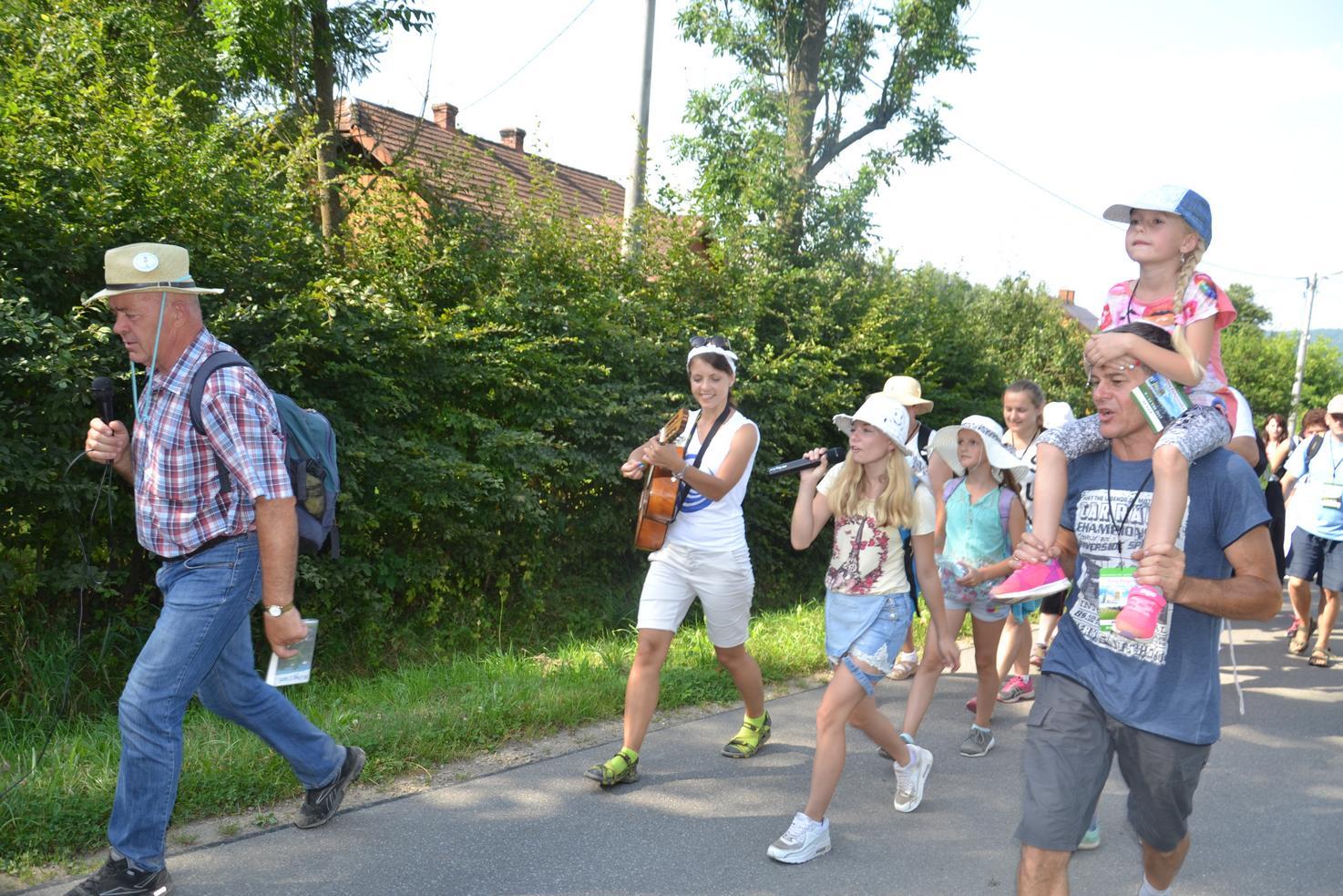 Drugi dzień pielgrzymki do Kalwarii Pacławskiej (20)