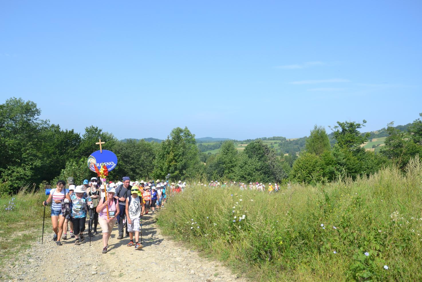 Drugi dzień pielgrzymki do Kalwarii Pacławskiej (29)