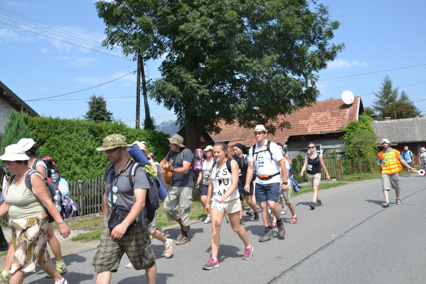 Drugi dzień pielgrzymki do Kalwarii Pacławskiej (36)