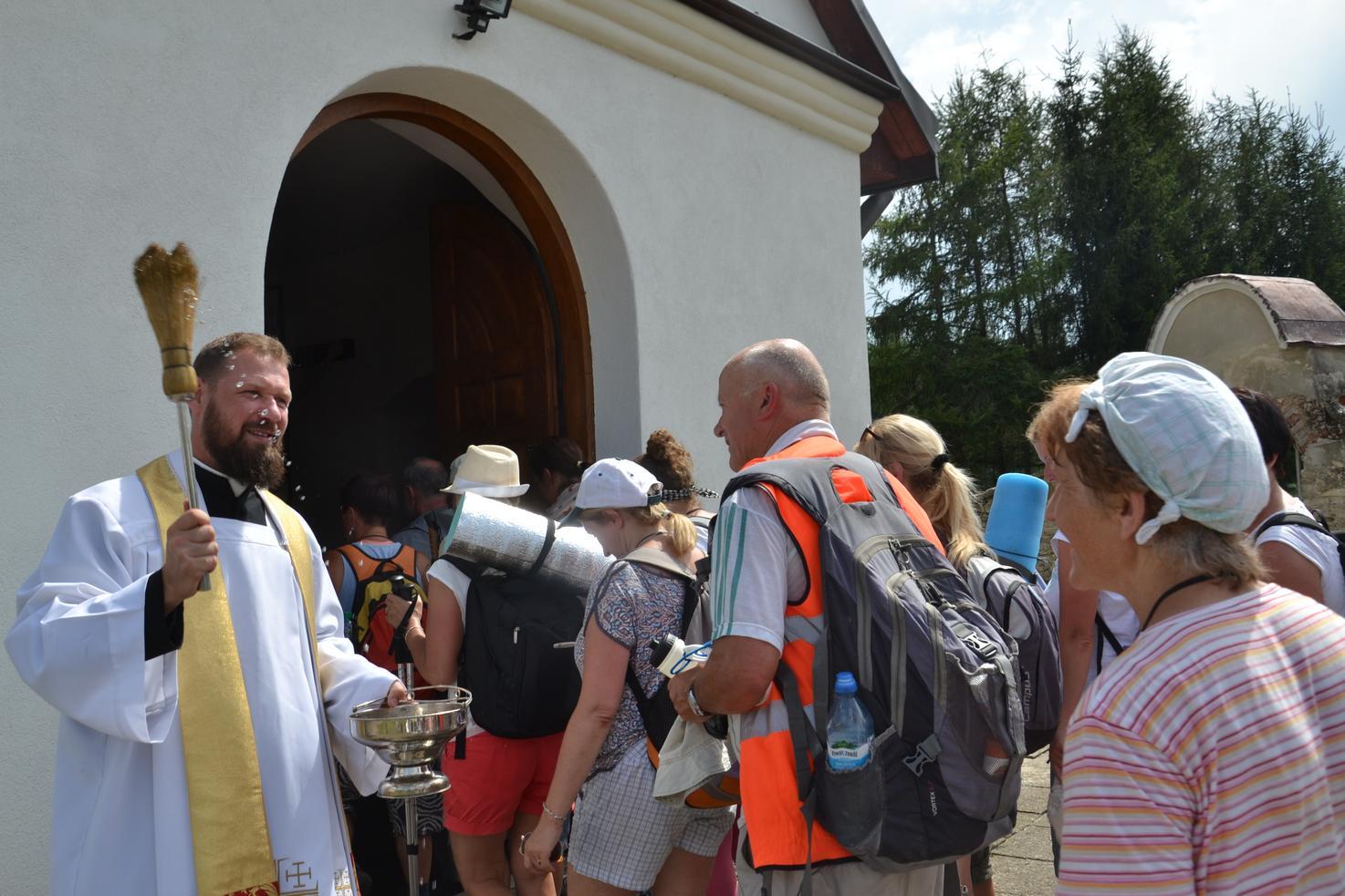 Drugi dzień pielgrzymki do Kalwarii Pacławskiej (38)