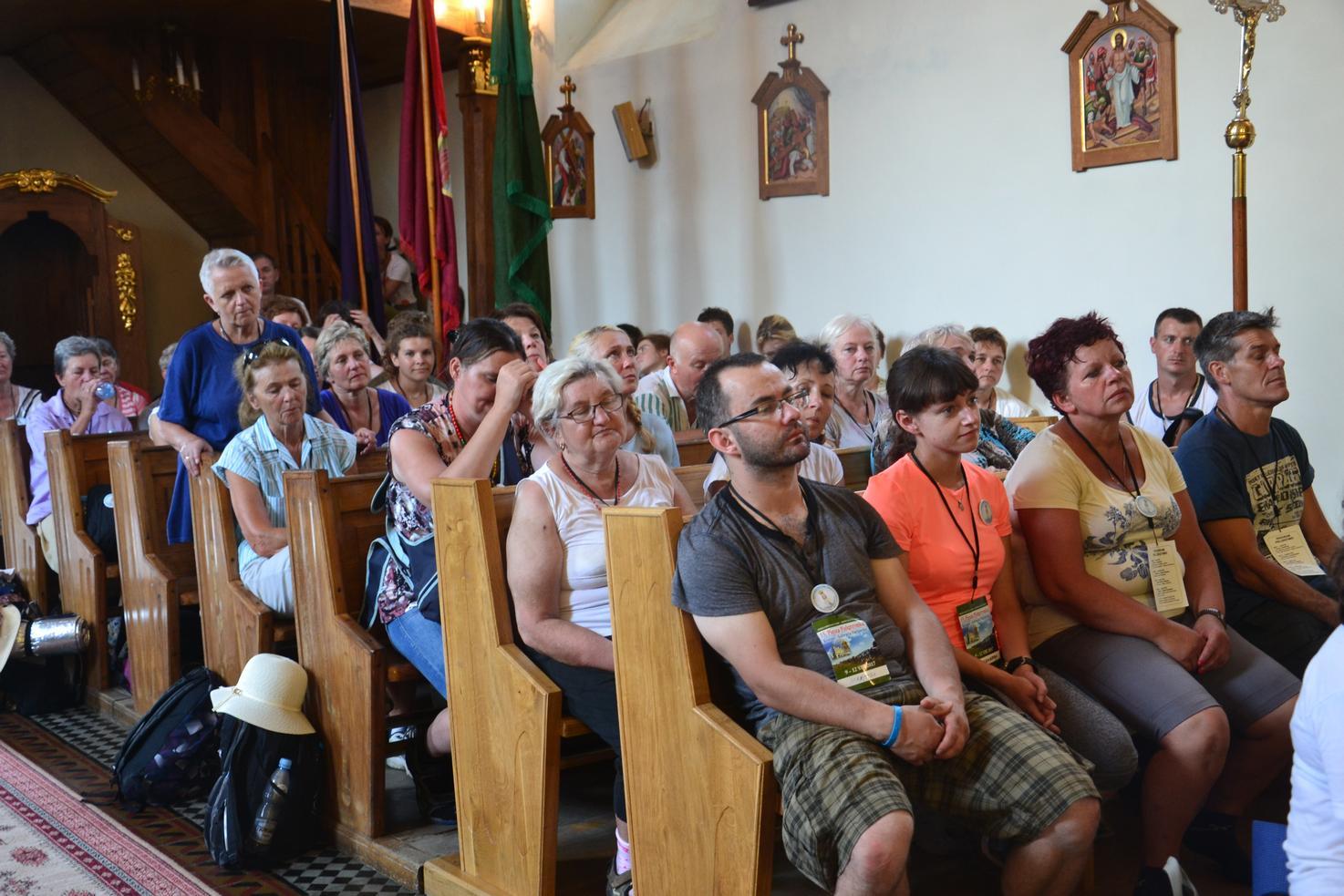 Drugi dzień pielgrzymki do Kalwarii Pacławskiej (42)