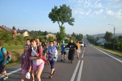 Drugi dzień pielgrzymki do Kalwarii Pacławskiej (04)