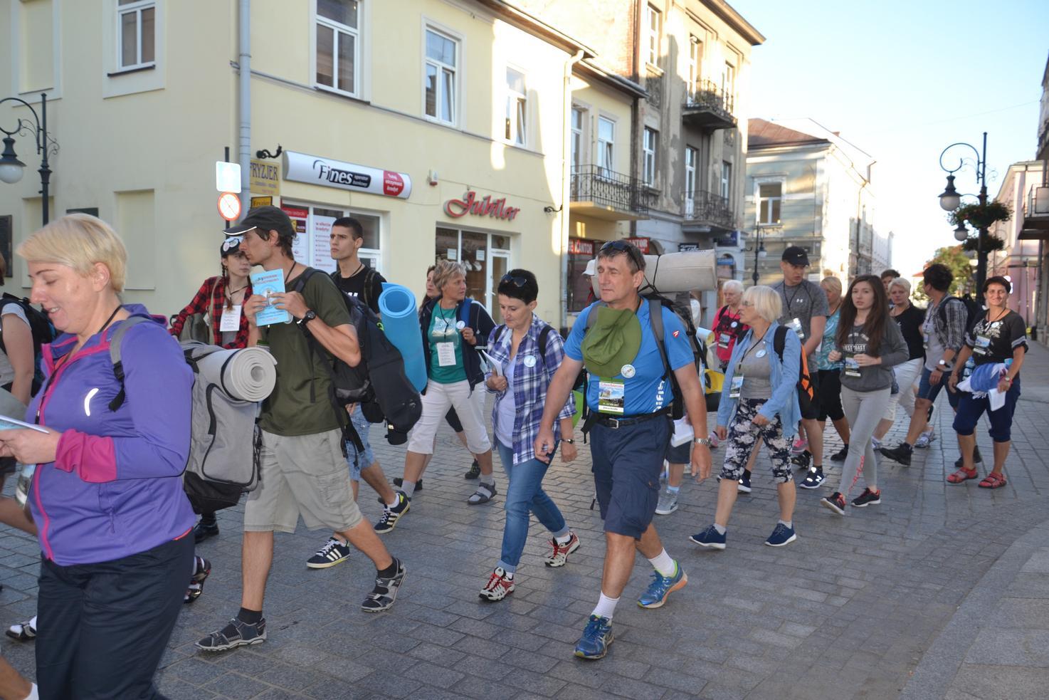 Pierwszy dzień pielgrzymki do Kalwarii Pacławskiej (02)