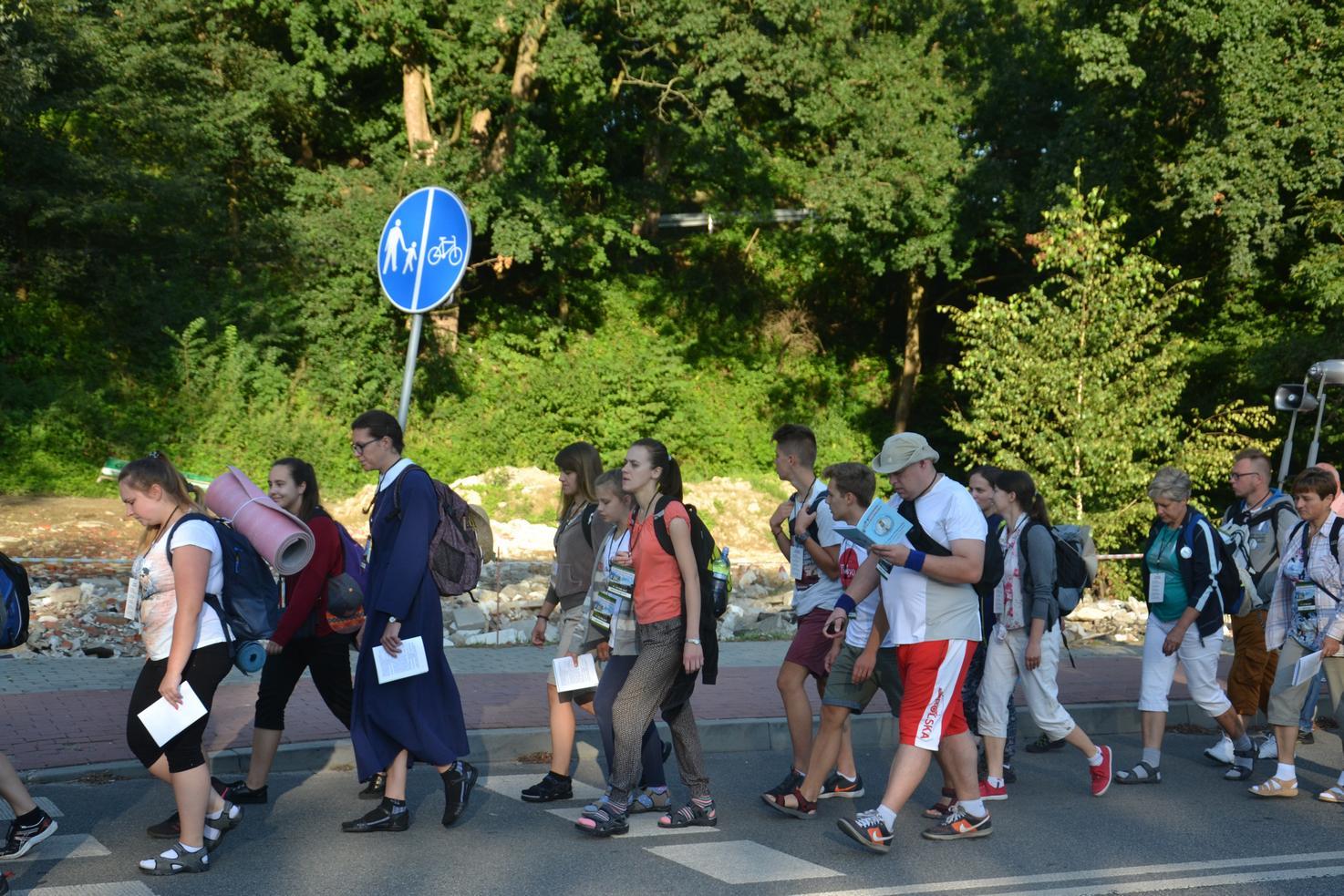Pierwszy dzień pielgrzymki do Kalwarii Pacławskiej (10)