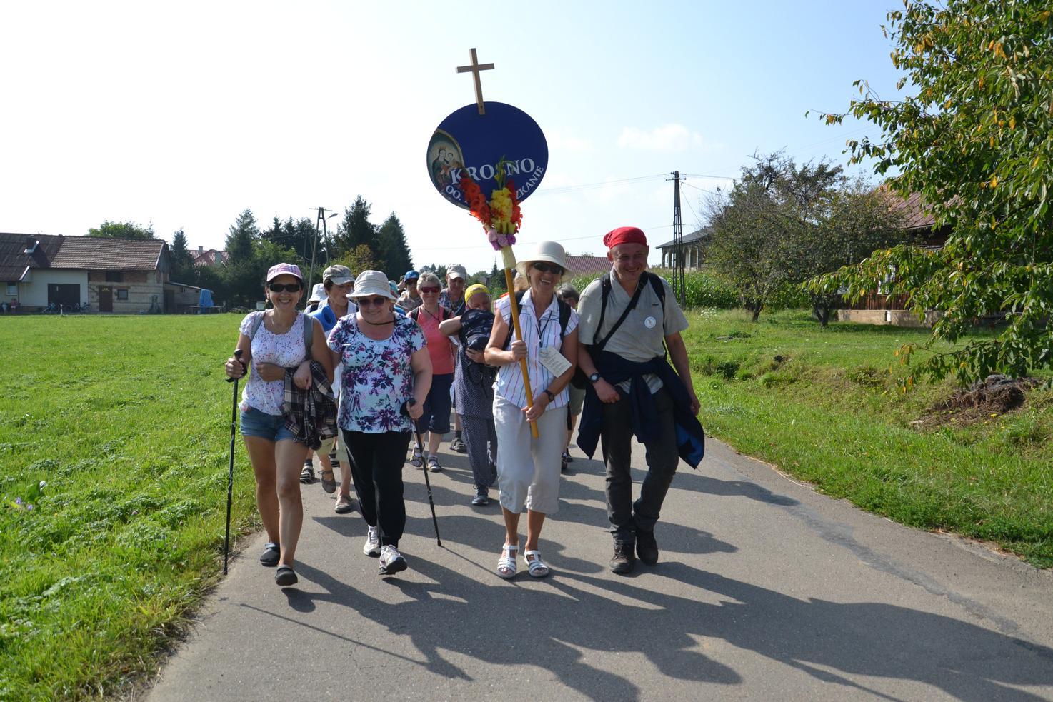 Pierwszy dzień pielgrzymki do Kalwarii Pacławskiej (128)