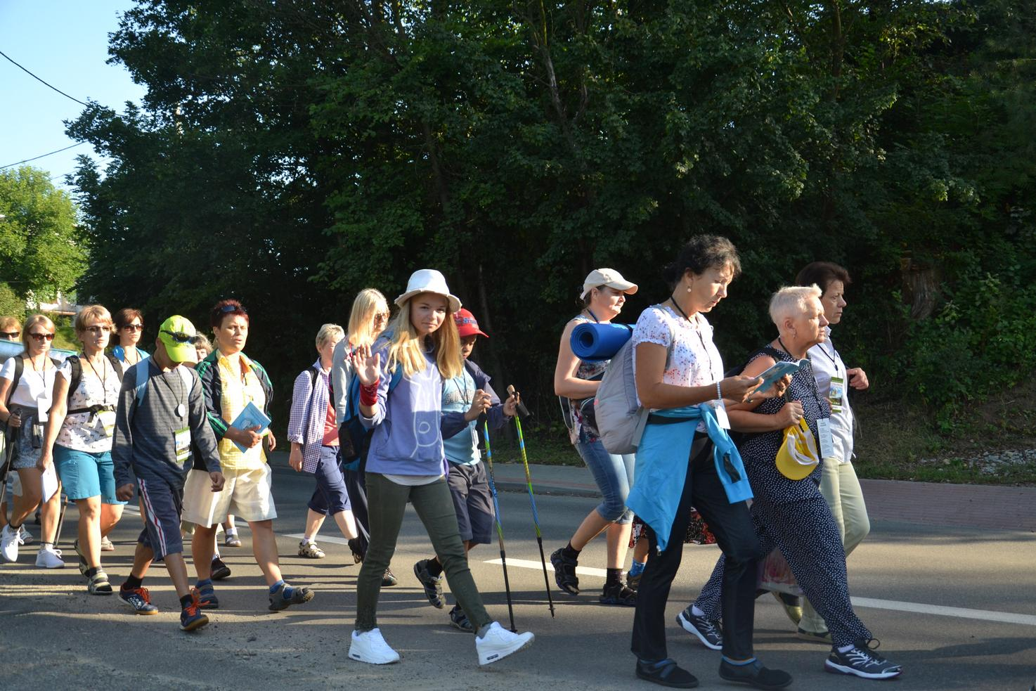 Pierwszy dzień pielgrzymki do Kalwarii Pacławskiej (14)