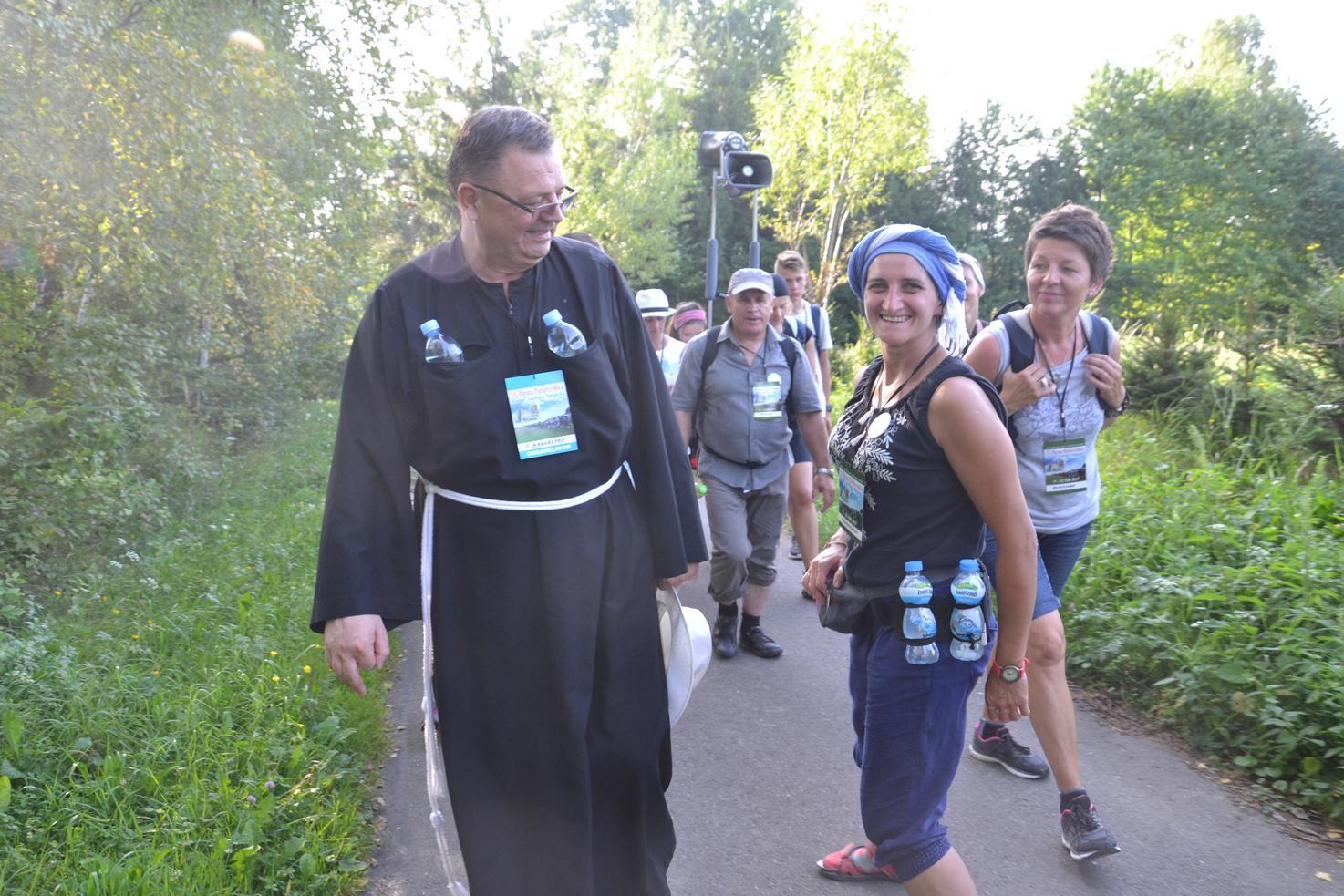 Pierwszy dzień pielgrzymki do Kalwarii Pacławskiej (140)