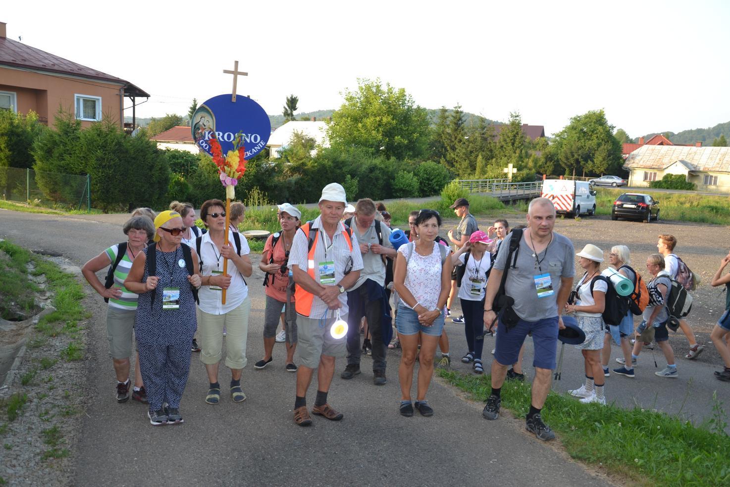 Pierwszy dzień pielgrzymki do Kalwarii Pacławskiej (149)